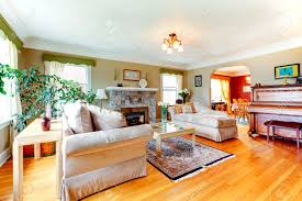 Living Rooms Without Sofas Bright Cozy Living Room With Hardwood Floor And Rug Fireplace