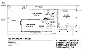 single family gallery home drawn san diego be a