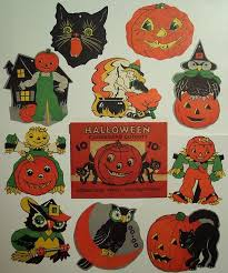 Halloween Cut Outs Best 25 Vintage Halloween Decorations Ideas Only On Pinterest