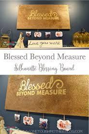 happy thanksgiving glitter diy blessing board silhouette challenge sweet tea u0026 saving grace