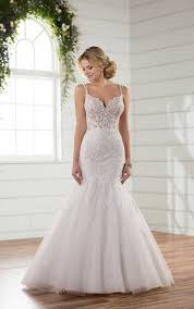 wedding dress gallery mermaid wedding dresses sheer mermaid wedding gown essense of