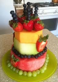 25 fruit birthday cake ideas fruit kabobs