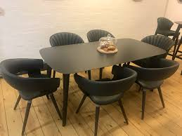 allermuir mollie and cardita chairs with a jaicer table product