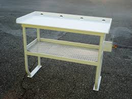 Fish Cleaning Tables  Tuna Tables Atlantic Aluminum Marine - Fish cleaning table design