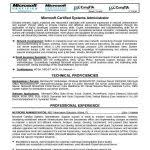 system administrator resume template systems administrator resume