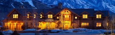 log cabin luxury homes jackson hole luxury real estate
