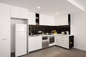 Kitchen Cabinet Design For Apartment by Small Apartment Kitchen Design Ideas Beautiful White Wooden