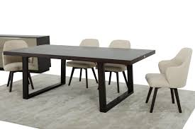 Extending Wood Dining Table Modern Oak Dining Table Caligari Contemporary And Chairs Extending