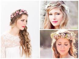 floral headbands floral headband for brides women hairstyles