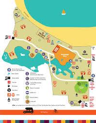 Festival Map Site Map U2013 Vancouver Folk Music Festival