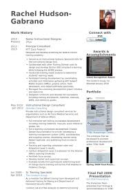 Best Designed Resumes Sensational Instructional Design Resume 4 Instructional Designer