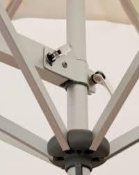 wall mounted patio umbrella easysol flexible shade umbrella