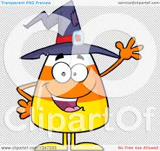 halloween candy png clipart of a cartoon halloween candy corn character wearing a