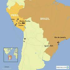 essence of south america brazil iguazu falls and peru country