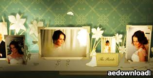 project wedding album 3d wedding photo album project for after effects videohive