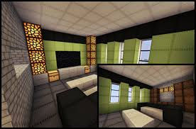 minecraft modern house interior living room aecagra org