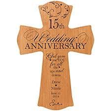 15 year anniversary gift 15th wedding anniversary gift for cherry wood