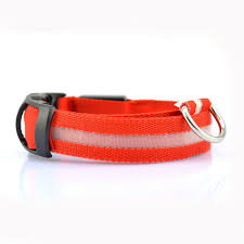 collar light for small dogs nylon led dog collar light night safety led flashing glow pet