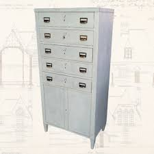 Vintage Filing Cabinet Upcycled Industrial Style Drawers Filing Cabinet Napoleon Rockefeller