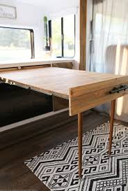 best space saving table ideas pinterest foldable space saving diy pull out table