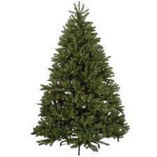 pre lit artificial trees bronner s
