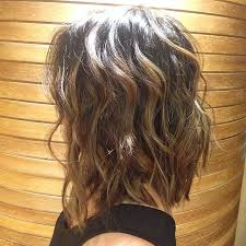 slightly angled long bob cool brunettes have more fun gave my girl some ashy brown and