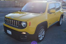 jeep renegade altitude yellow jeep renegade for sale used cars on buysellsearch