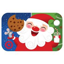 laughing santa gift card target