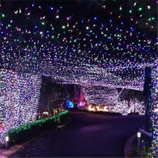 c lights string led lights string outdoor and led snowfall cascading partylights