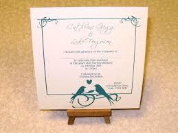 love birds wedding invitations michaels invitations ideas love