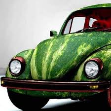 Wrapping Car Wrapping Watermelon Wrap Vw Beetle Perfect For Summer And