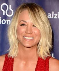 kaley cuoco hairstyles in 2018