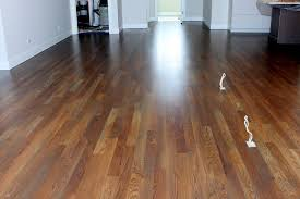 white oak with grey stain in randolf condominiums traverse city