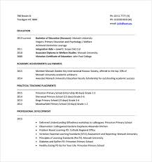 Tutor Resume Example by Sample Resume Monash University