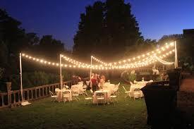 Outdoor Light Decorations Wedding Reception Lights Decorations