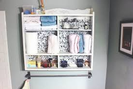 Bathroom Wall Cabinet Ideas White Wooden Bathroom Wall Cabinet With Decorative Black Tone Door