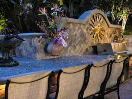 Outdoor Kitchen Countertops Ideas Outdoor Kitchen Countertop Picgit Com