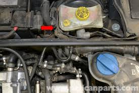 audi a4 b6 brake booster vacuum pump replacement 2002 2008