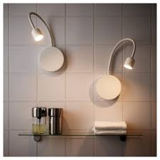 battery powered bedside l light battery operated wall mounted lights blavik led l white