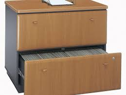 Wood 2 Drawer File Cabinets by Filing Cabinet Slides Locable Drawer Grey And Cherry Finish