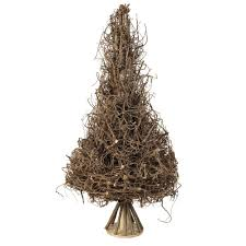 brown christmas tree large sully rattan christmas tree large dotty home gifts and
