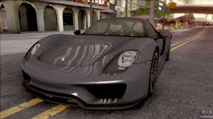Porsche 918 Awd - porsche 918 for gta san andreas