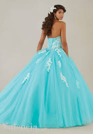 aqua green quinceanera dresses tulle quinceanera dress style 89086 morilee