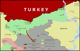 Azaz Syria Via Google Maps by Offiziere Ch Security Policy U2013 Armed Forces U2013 Media Page 9