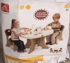 Step 2 Traditions Table Chair Set Step2 New Traditions Chairs Set Of 2 U2022 50 99 Picclick