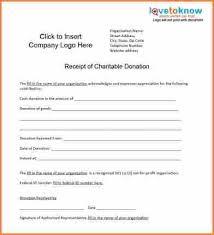 9 donation tax receipt template return receipt form
