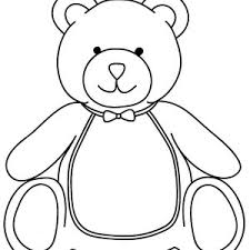 stunning idea teddy bear color pages teddy bear