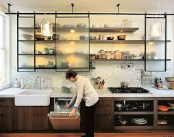 kitchen shelving ideas 160 best kitchens open shelving images on country