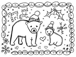 printable christmas cards for kids to color pictures reference