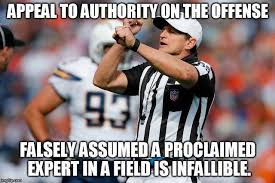 Ed Hochuli Meme - logical fallacy referee know your meme